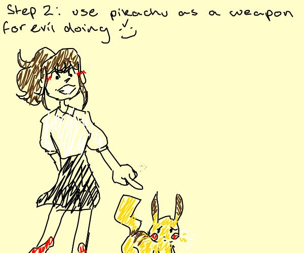 1st step: catch pikachu