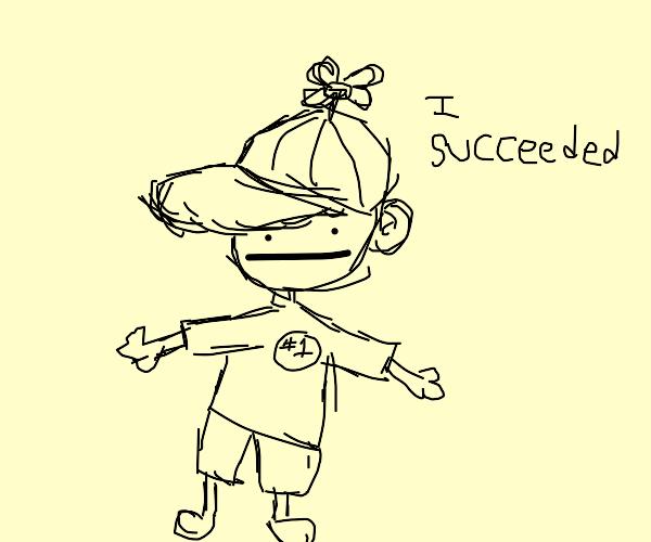 kid who succeeded in kindergarten