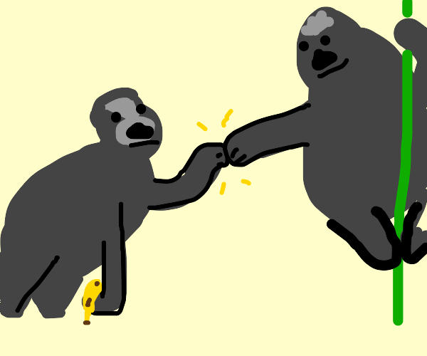 Gorilla Fistbump