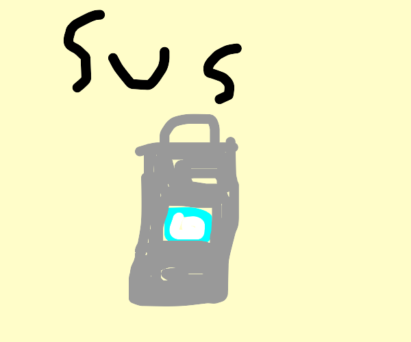 sus trash can