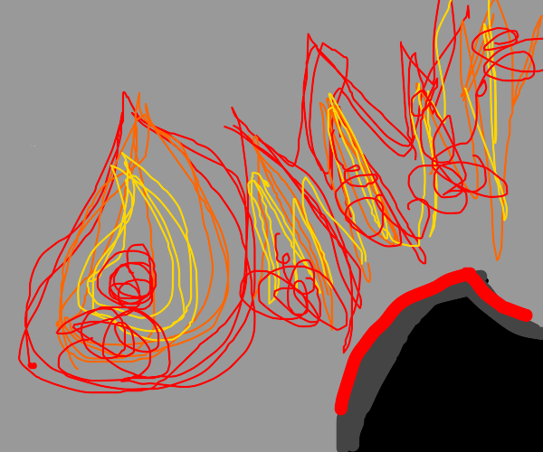 Bendy is Looking at Fire!