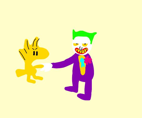 woodstock and joker are united