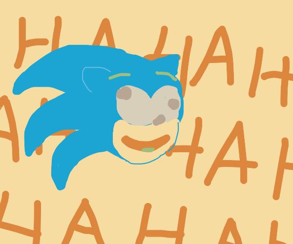 drunk sonic laughing alloooooooooooooooooooot