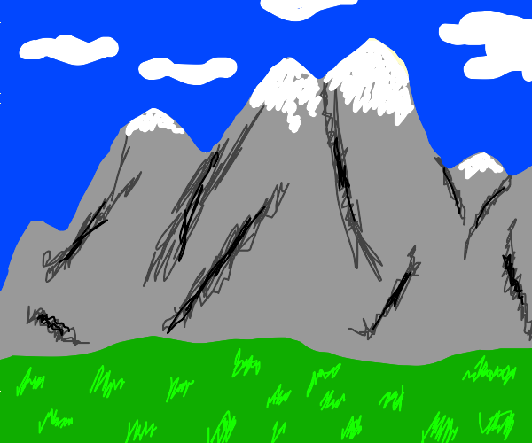A magestic mountain