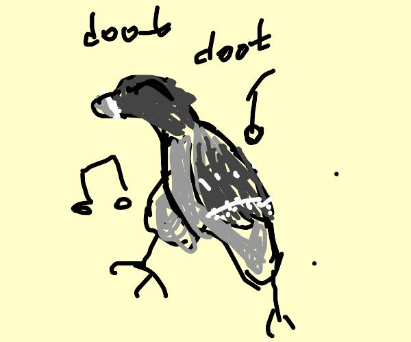 Dancing Pigeon
