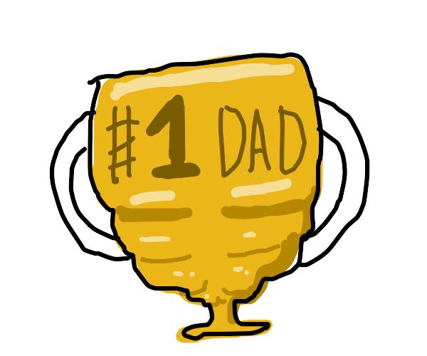 Buff #1 dad trophy