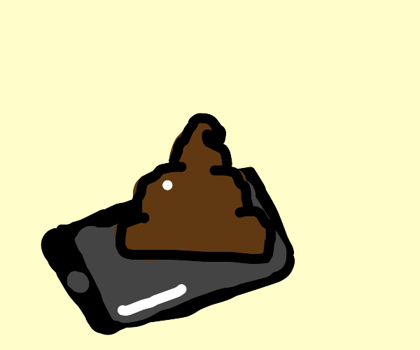 Poop on my phone