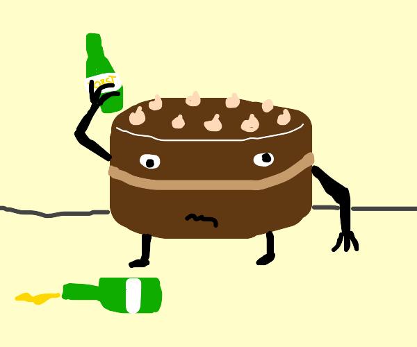 Drunk Cake