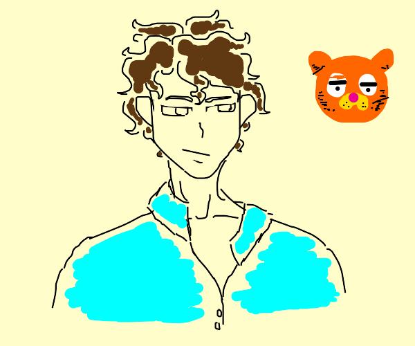 anime version of jon from garfield