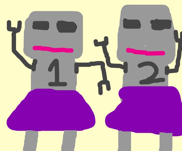1&2 Female robots