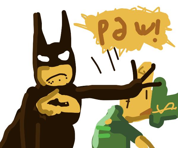 Dude 'Batman Slaps' Leprechaun