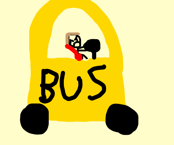 Angry bus driver