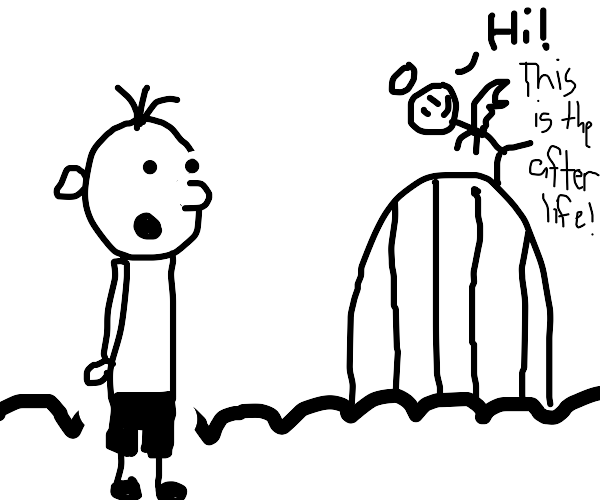 Greg Heffley is welcomed to the afterlife