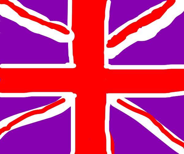 uk flag (long live tea land)