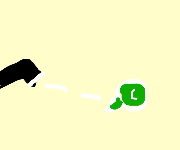 guy shoots whatsapp