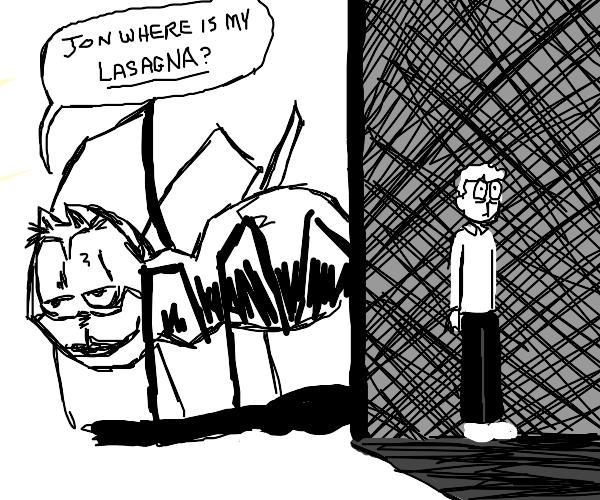 Jon gibe meh lasaga