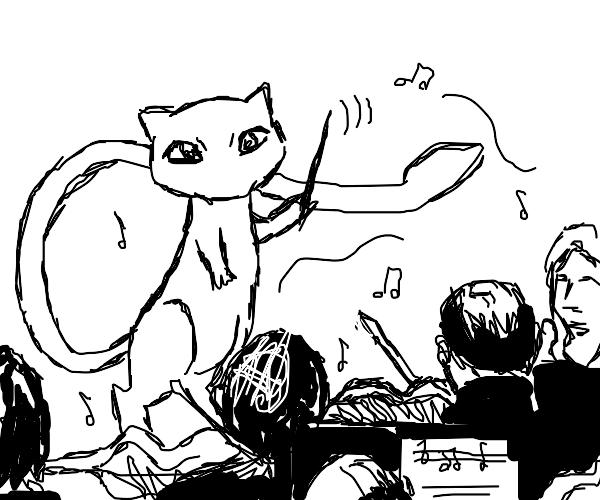 Mew conducts a symphony