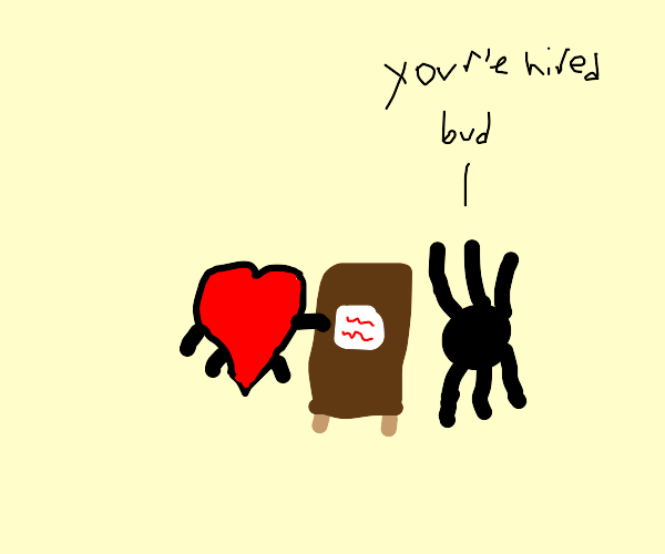 Spider hiring Heart
