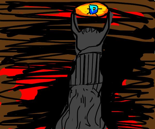 sauron sees the drawception D