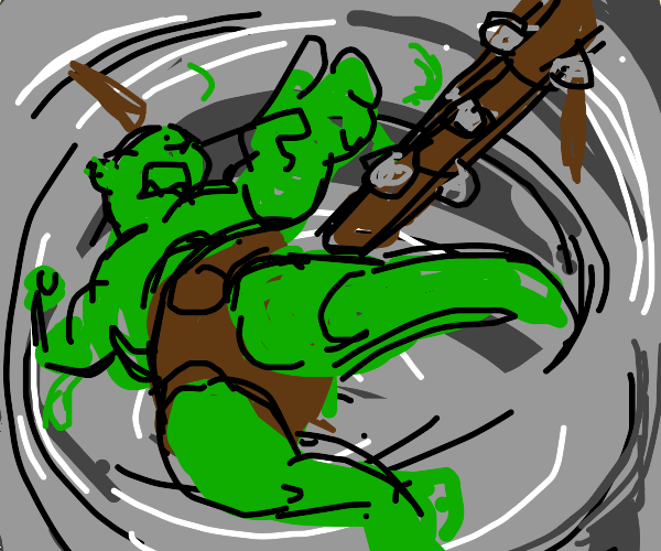 Orc in a Hurricane