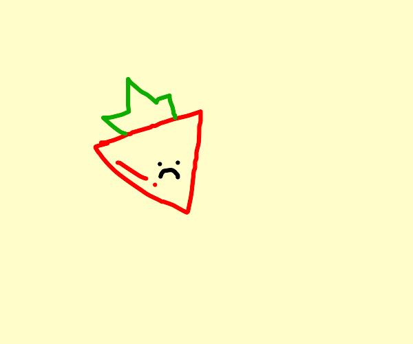 triangular strawberry