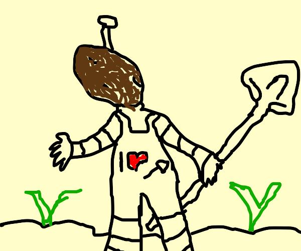 Android Mr. Potato Head