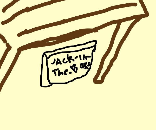Jack-In-The-Box game falls of a table
