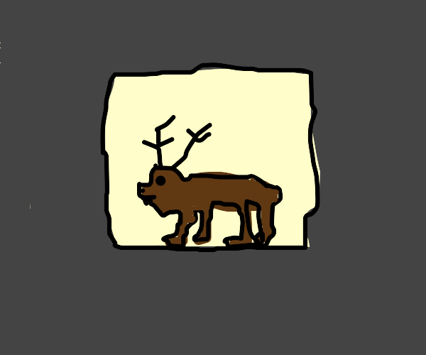 Deer from the Basement