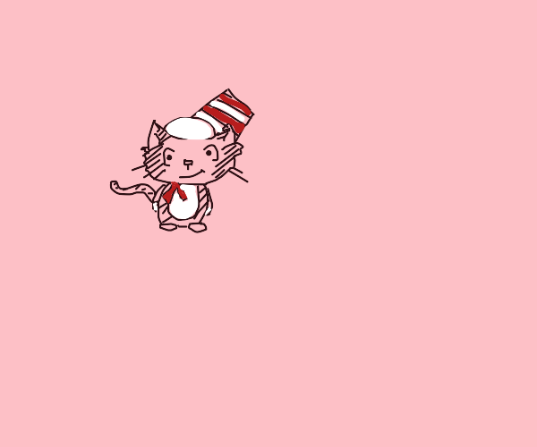 Baby Cat in the Hat