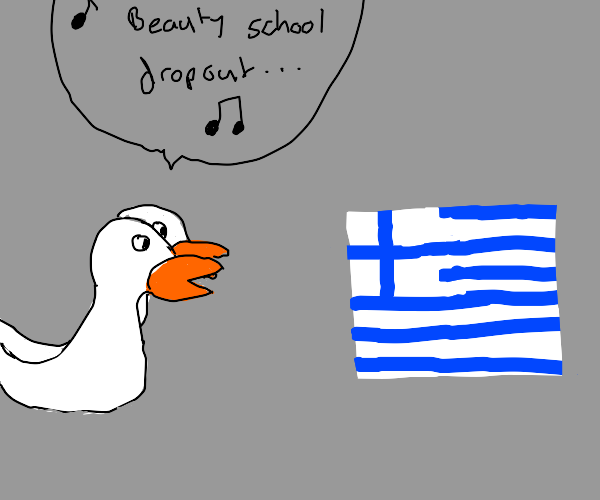 Geese sing Grease to Greece