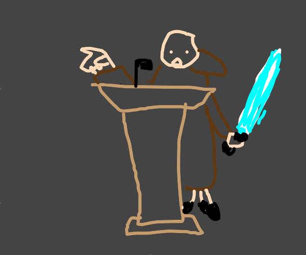 Jedi Lecturing