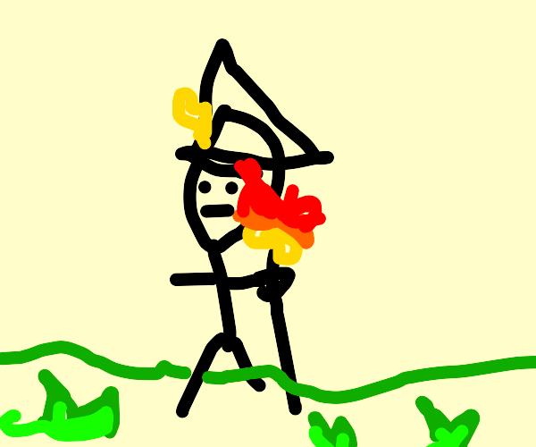 Young fire mage