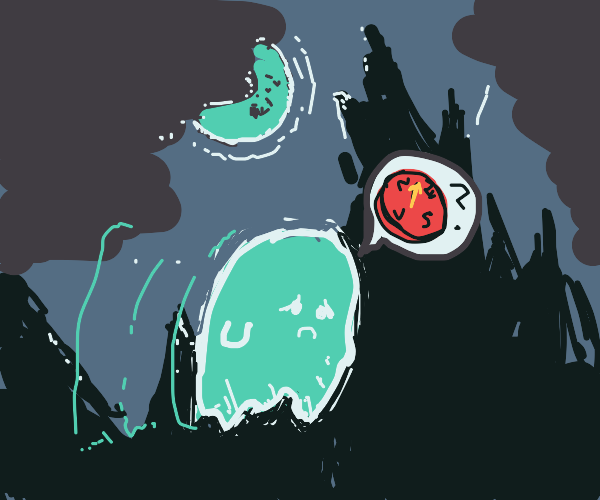 Ghost gets lost