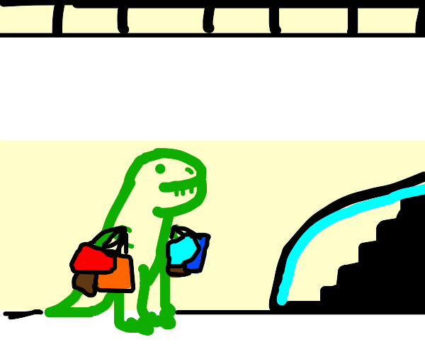 Dinosaur Shopping