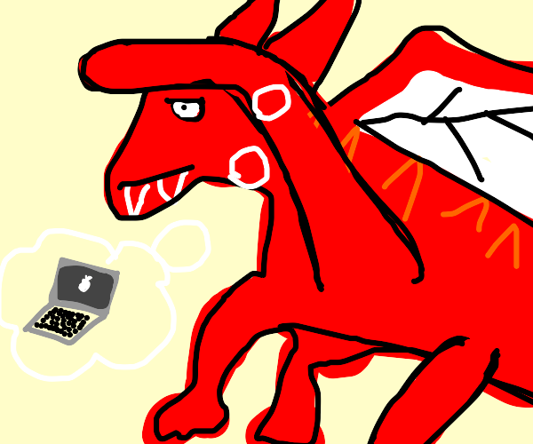 Dragon looking for a Laptop