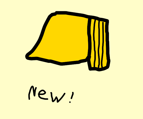 a brand new post-it note