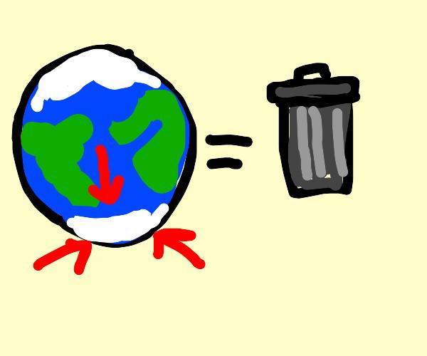 antarctica is trash