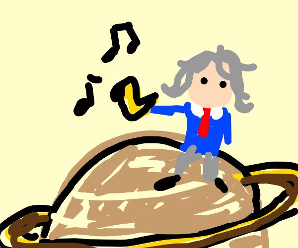 Beethoven on Saturn