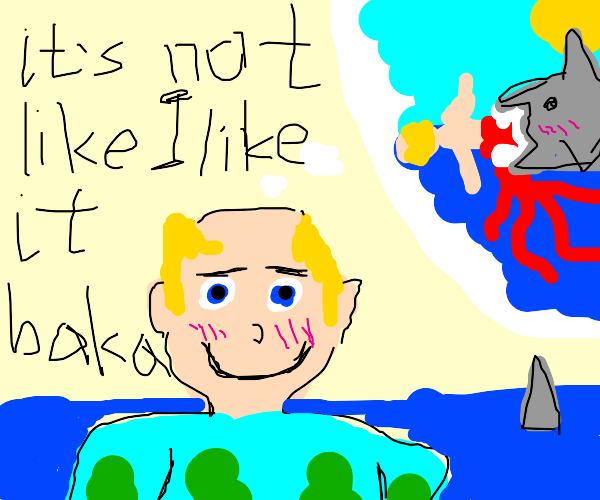 Man dreams of eminent death by sharks