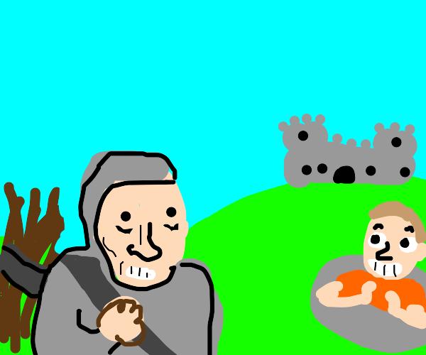 medieval troll