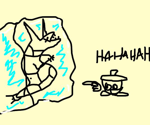 frozen rayquaza vs seedot