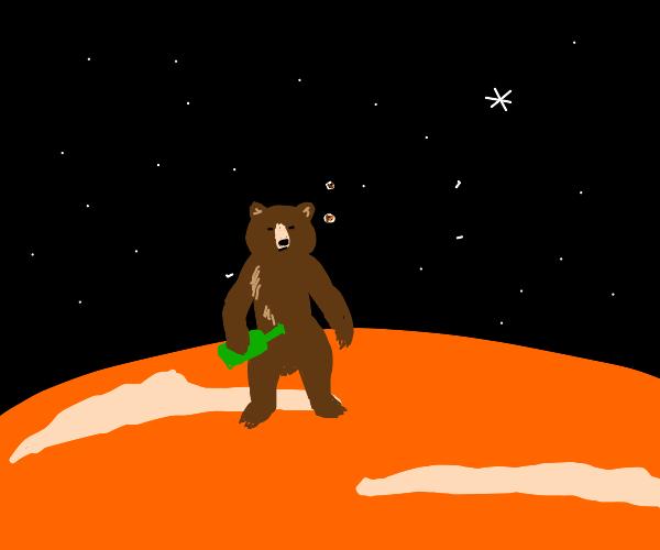 dringin bear on marz