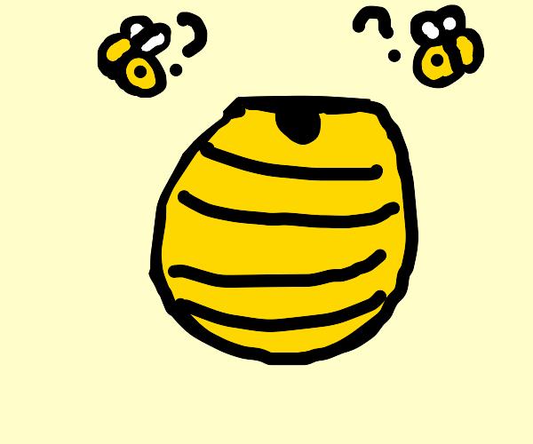 Upside Down Bee Hive