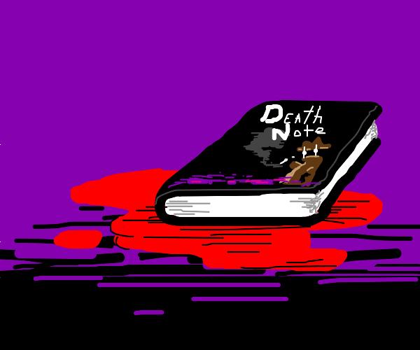 A detective novel titled Death Note