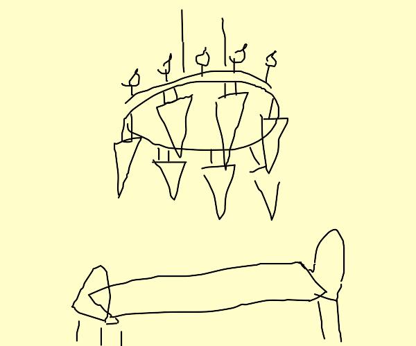 Chandelier of Swords