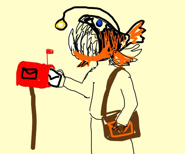 Anglerfish Mailman