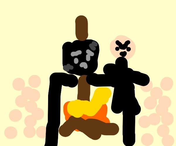 Burnt marshmallow execution