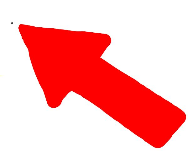 A red pointer points at a point