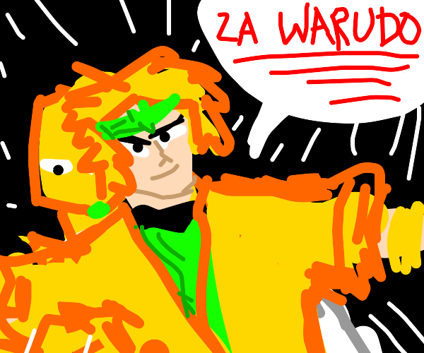 Dio Stops Time with The World