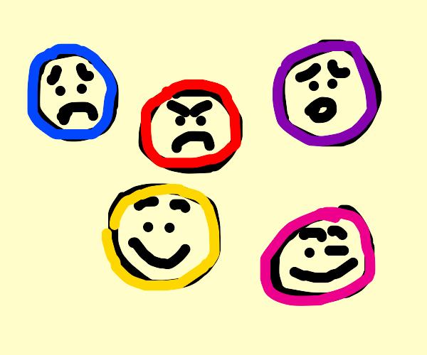 Emotional Marbles